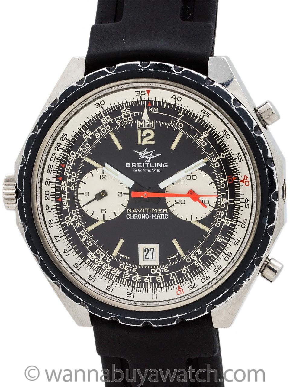 Breitling ref 1806 Navitimer Chronomatic circa 1970's