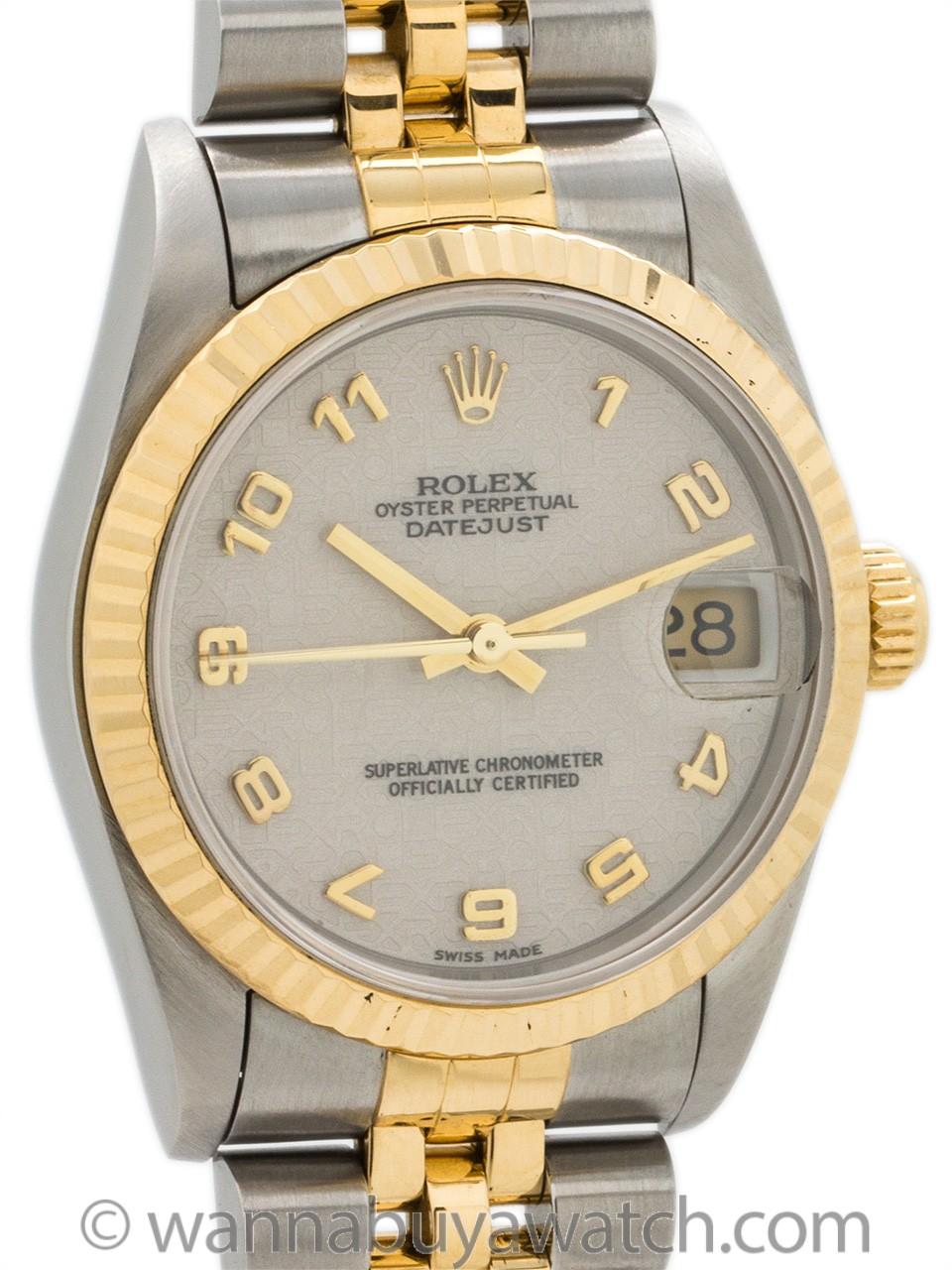 Rolex Datejust SS/18K Gold ref 68273 circa 1996