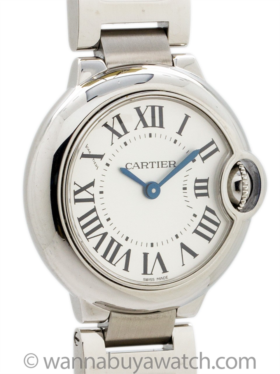 Cartier Ballon Bleu Stainless Steel Lady's circa 2000s