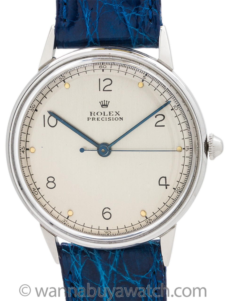 Rolex ref 4363 Manual Wind Dress Model circa 1950's