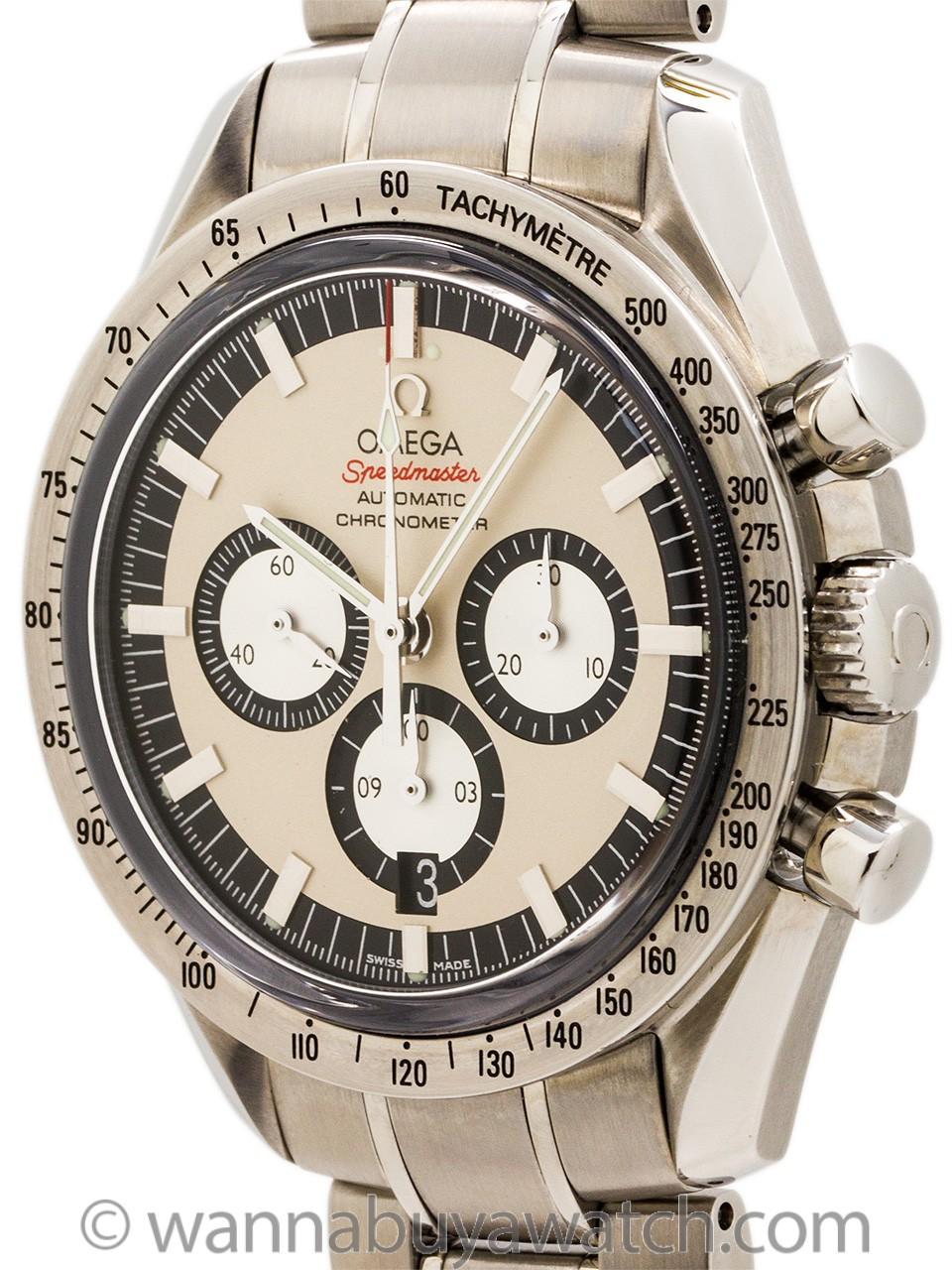 Omega Speedmaster Michael Schumacher Legend Collection circa 2006