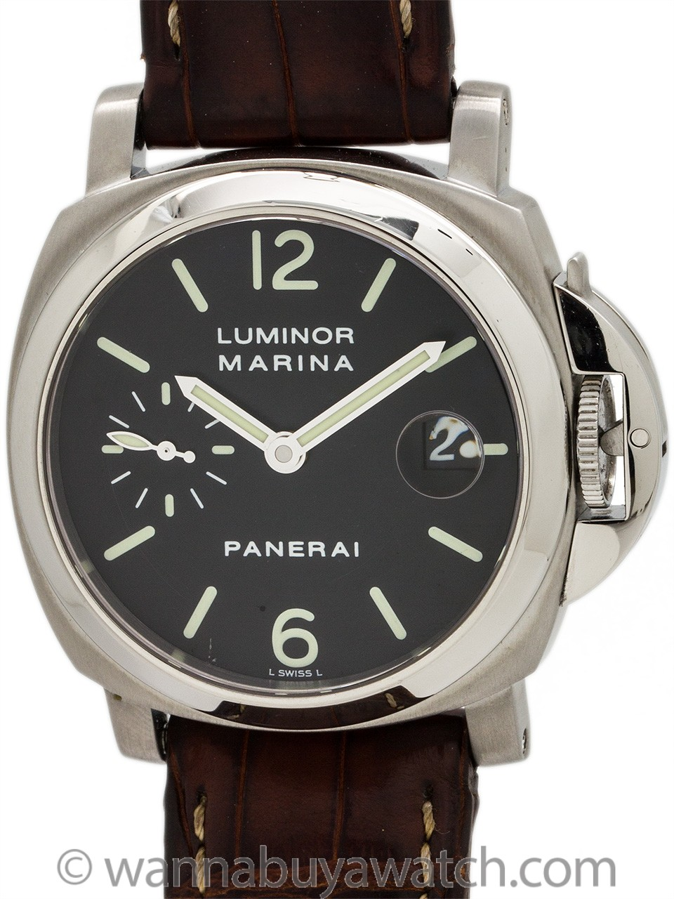 Panerai Luminor Marina Stainless Steel OP 6560 PAM 48