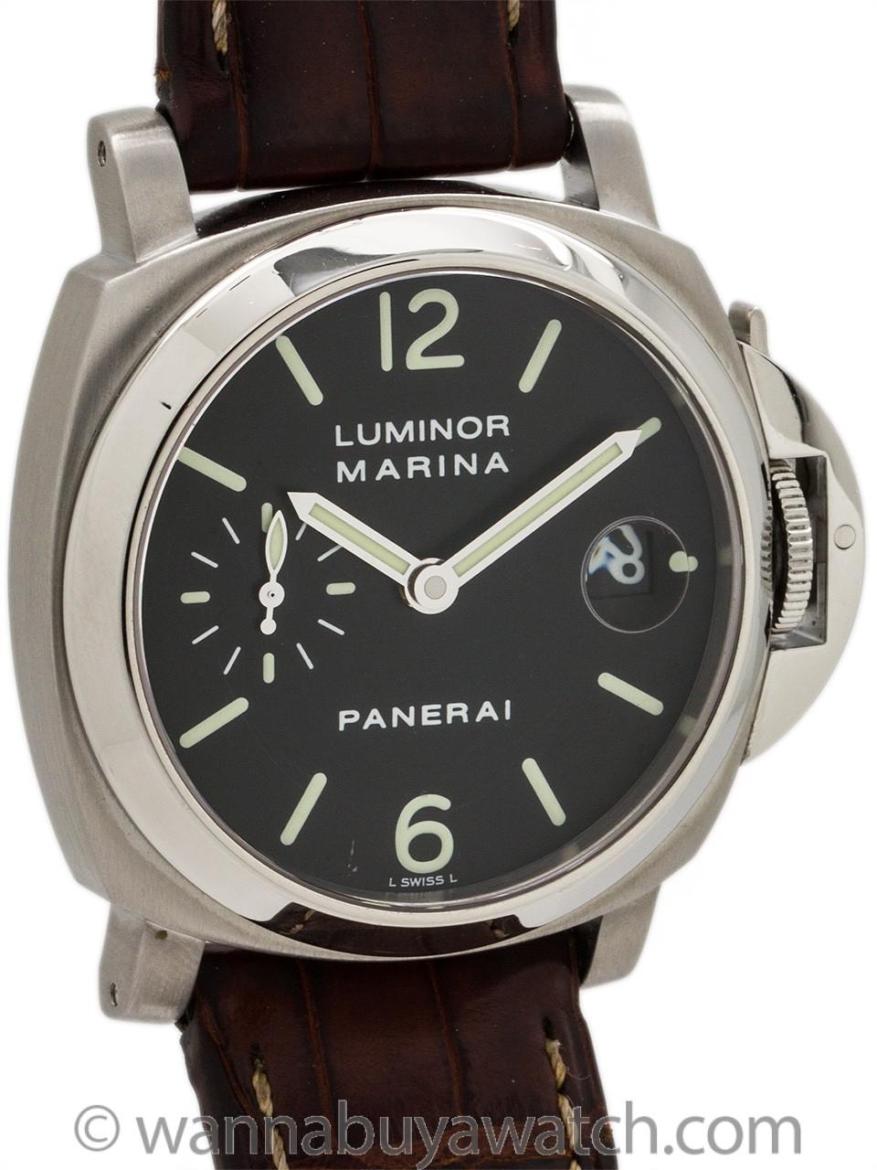 Panerai Luminor Marina Stainless Steel OP 6560 PAM 48