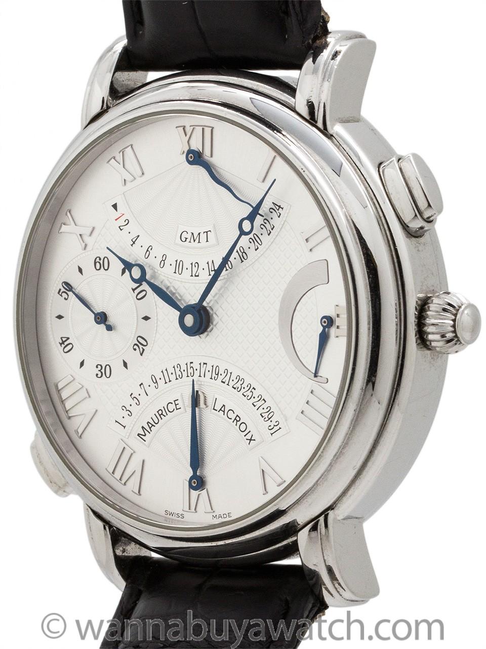 Maurice LaCroix Double Retrograde GMT