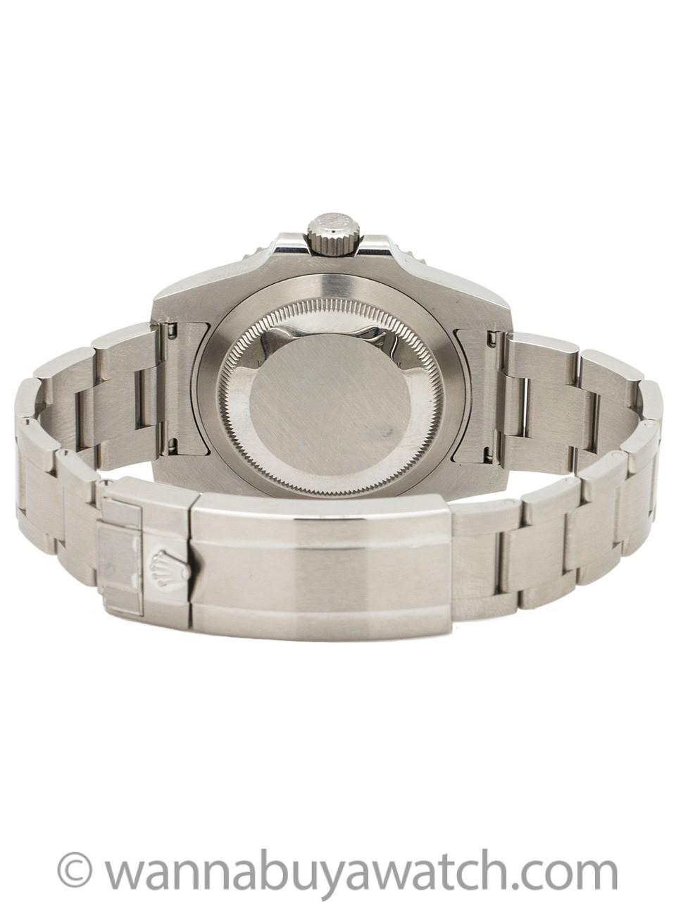 Rolex Submariner ref 114060 Ceramic circa 2016 B & P