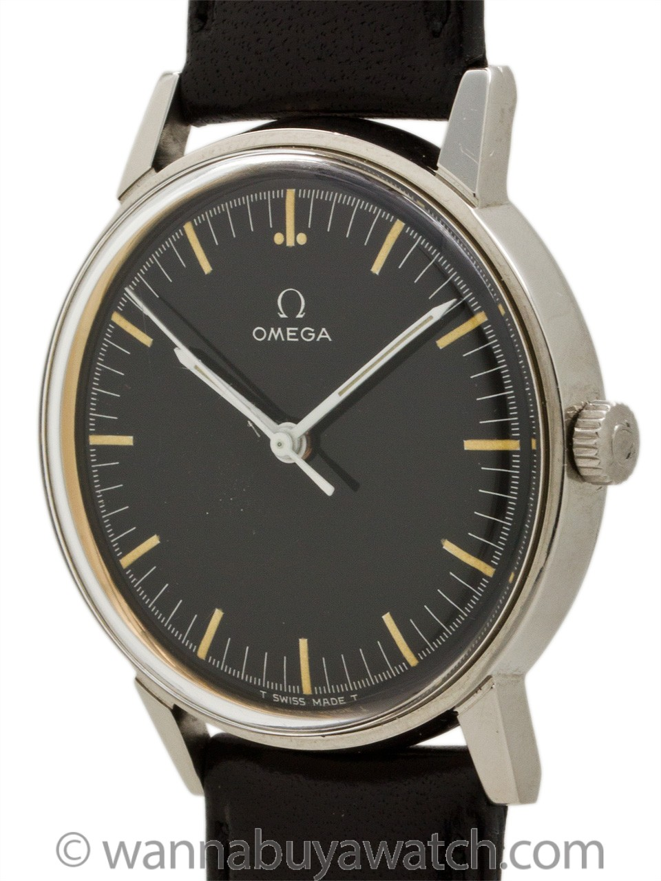 Omega Stainless ref 135.011 Post Moderne Design circa 1966