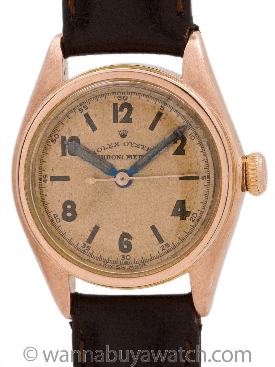 Rolex Oyster Chronometer ref 2595 Boy's Size circa 1940's
