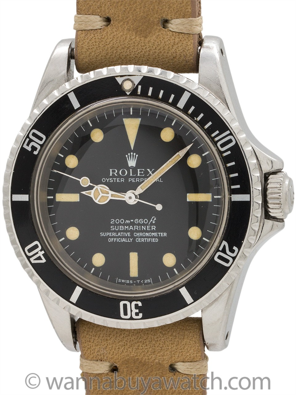 Rolex Submariner ref 5512 Meters First circa 1967