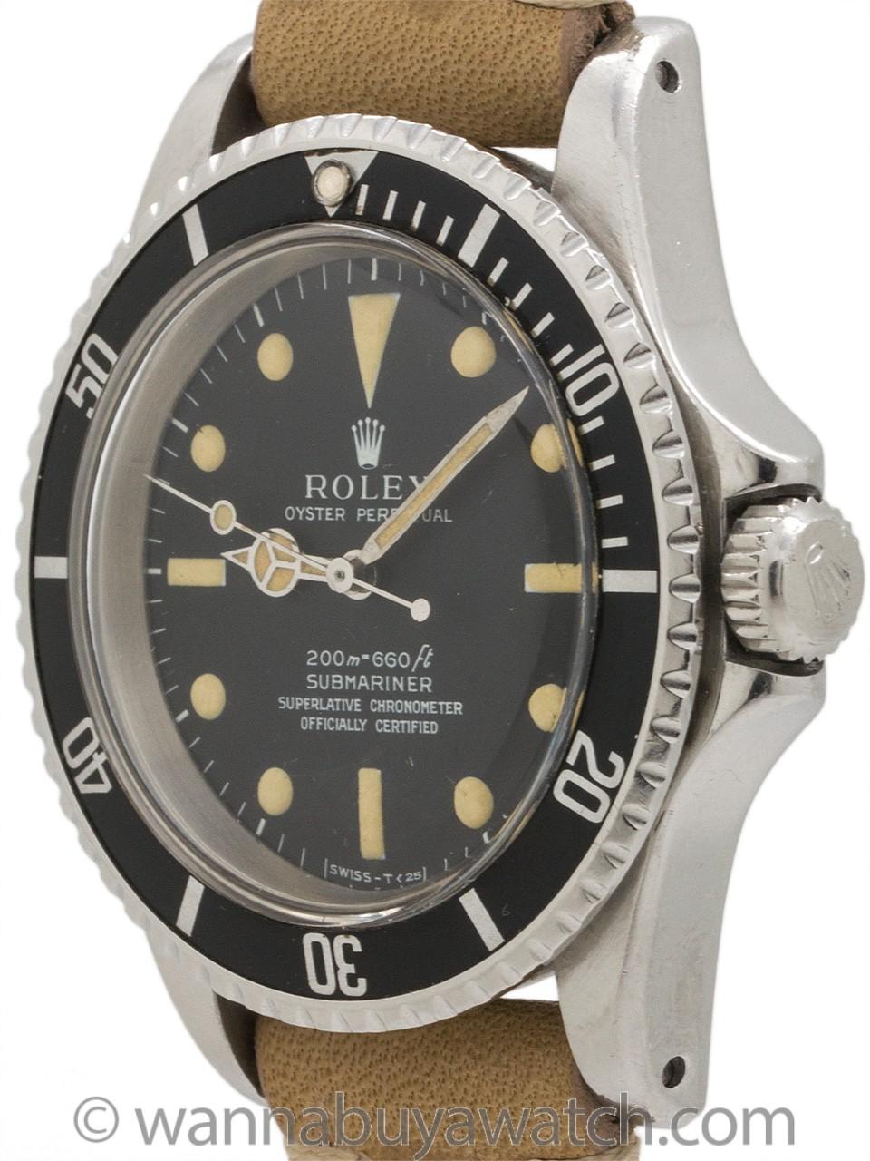 Rolex Submariner ref 5512 Meters First circa 1967