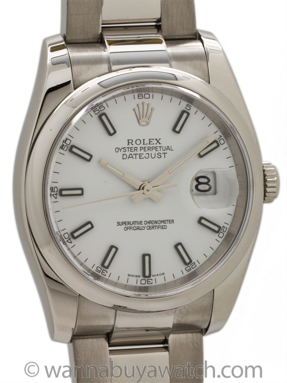 Rolex Datejust ref# 116200 Stainless Steel circa 2005