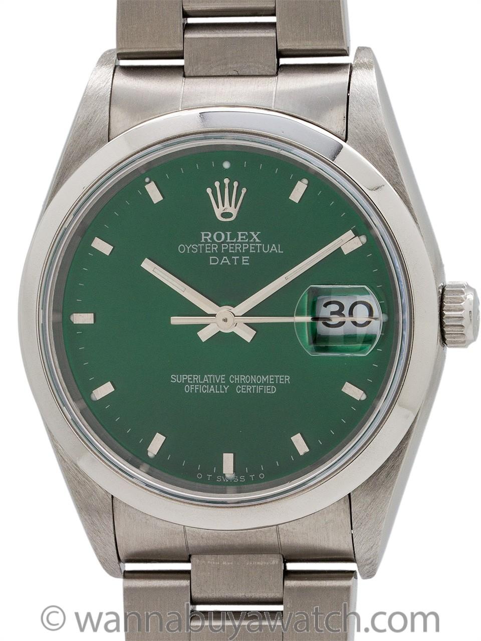 Rolex Oyster Perpetual Date ref 15200 circa 1995
