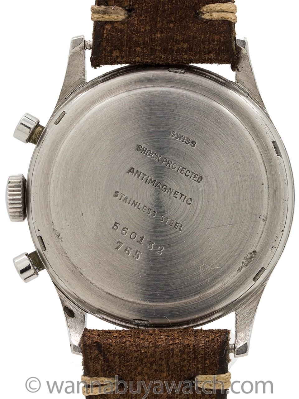 Welsbro Vintage Chronograph 38mm Venus 175 circa 1950's