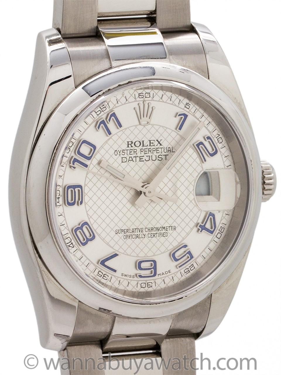 Rolex Datejust ref# 116200 Stainless Steel circa 2005