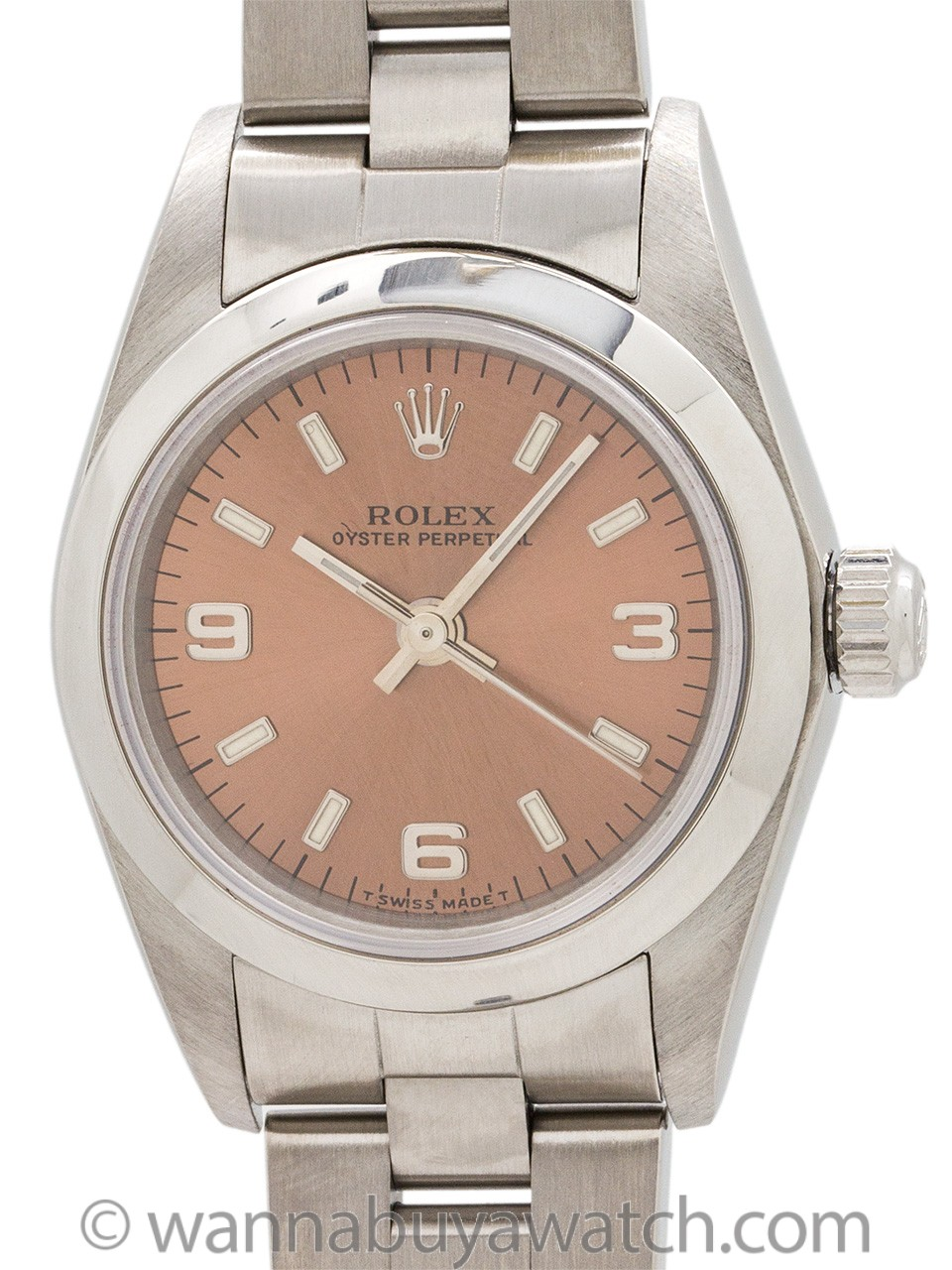 Lady Rolex Oyster Perpetual ref 76080 circa 1998