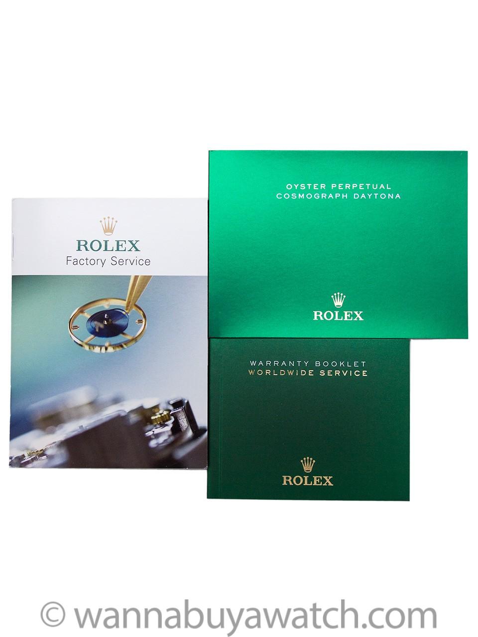 Rolex Daytona ref 116520LN Ceramic Bezel LNIB circa 2016