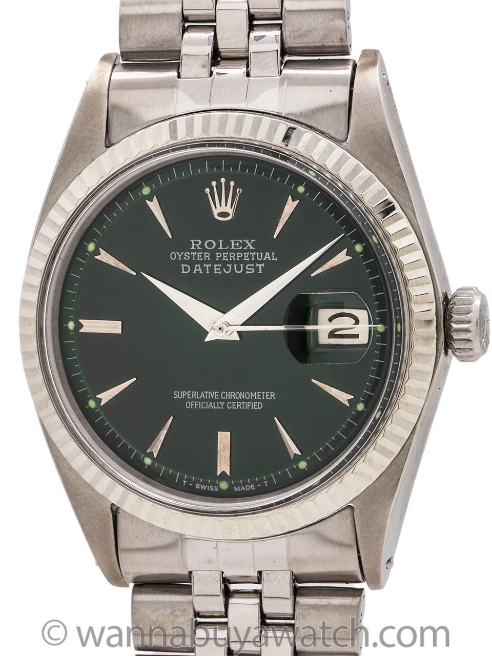 Rolex Datejust ref 1601 Stainless Steel circa 1964