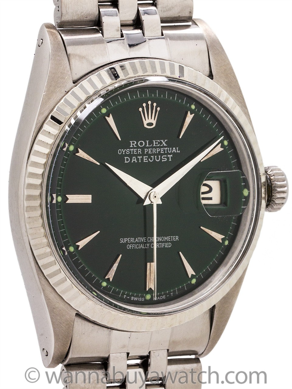 Rolex Datejust ref 1601 Stainless Steel circa 1964