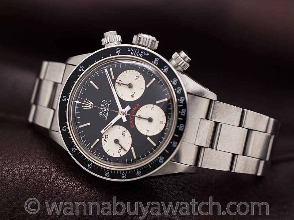 "Vintage Rolex Daytona ref 6263 ""Big Red"" circa 1978"