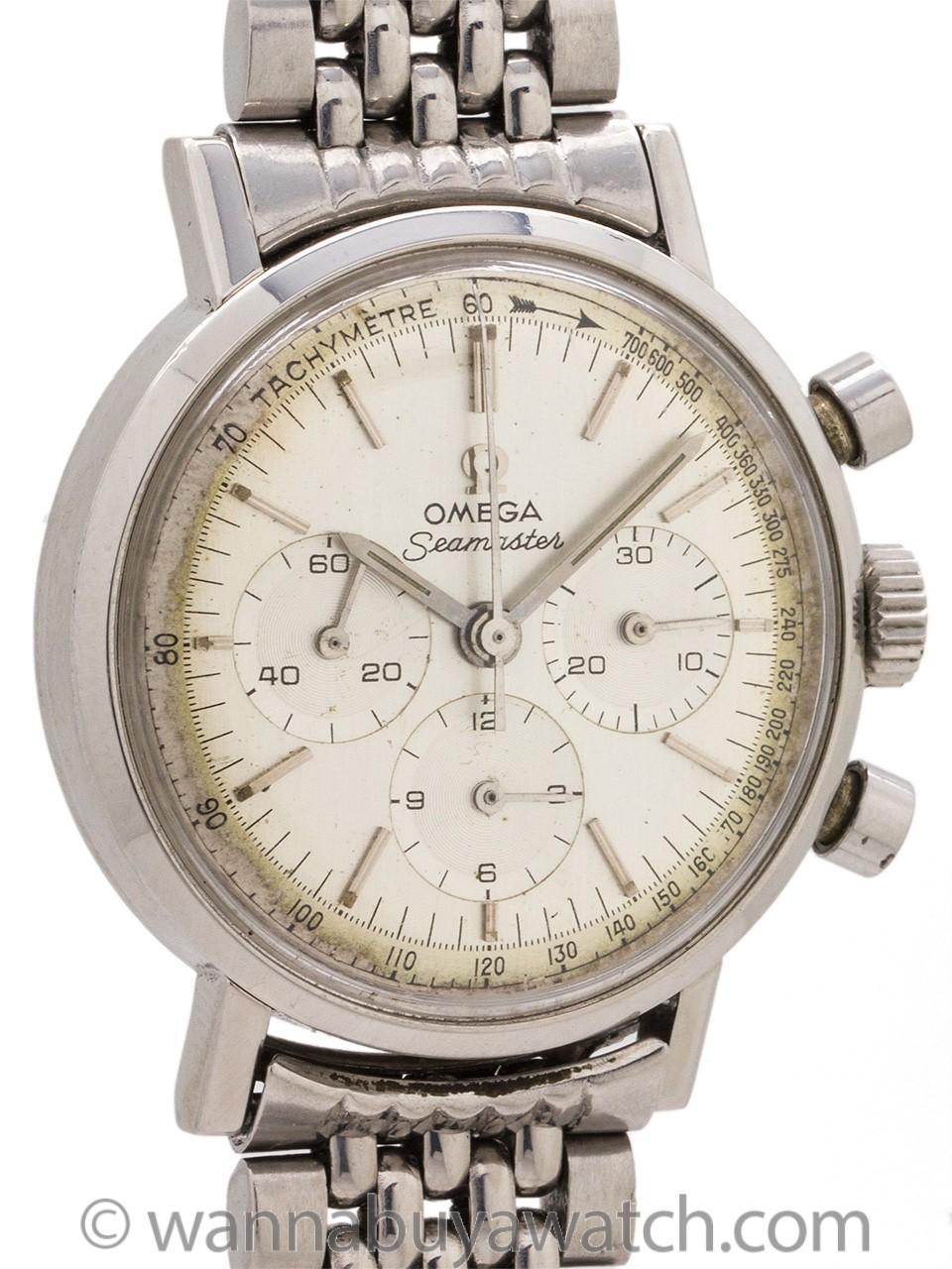 Omega Seamaster Chronograph ref 105.005 Caliber 321 circa 1966