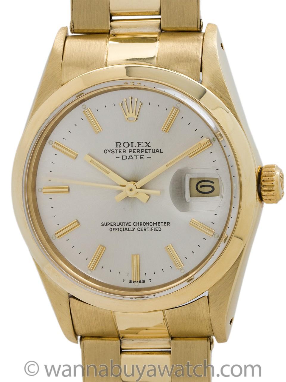 Rolex Oyster Perpetual Date ref 15037 circa 1980