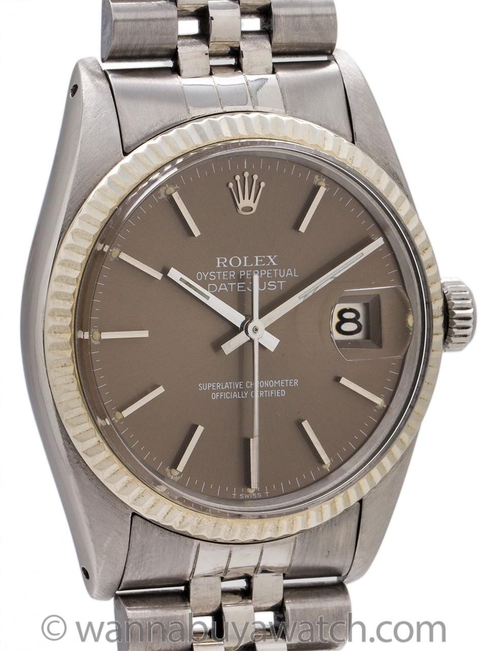 Rolex Datejust ref 16014 Stainless Steel circa 1980