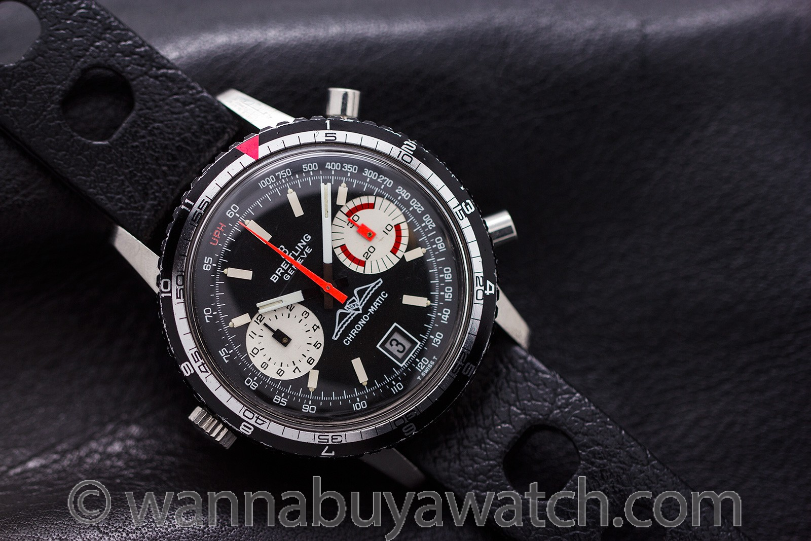 Breitling Chrono-Matic Stainless Steel circa 1970's
