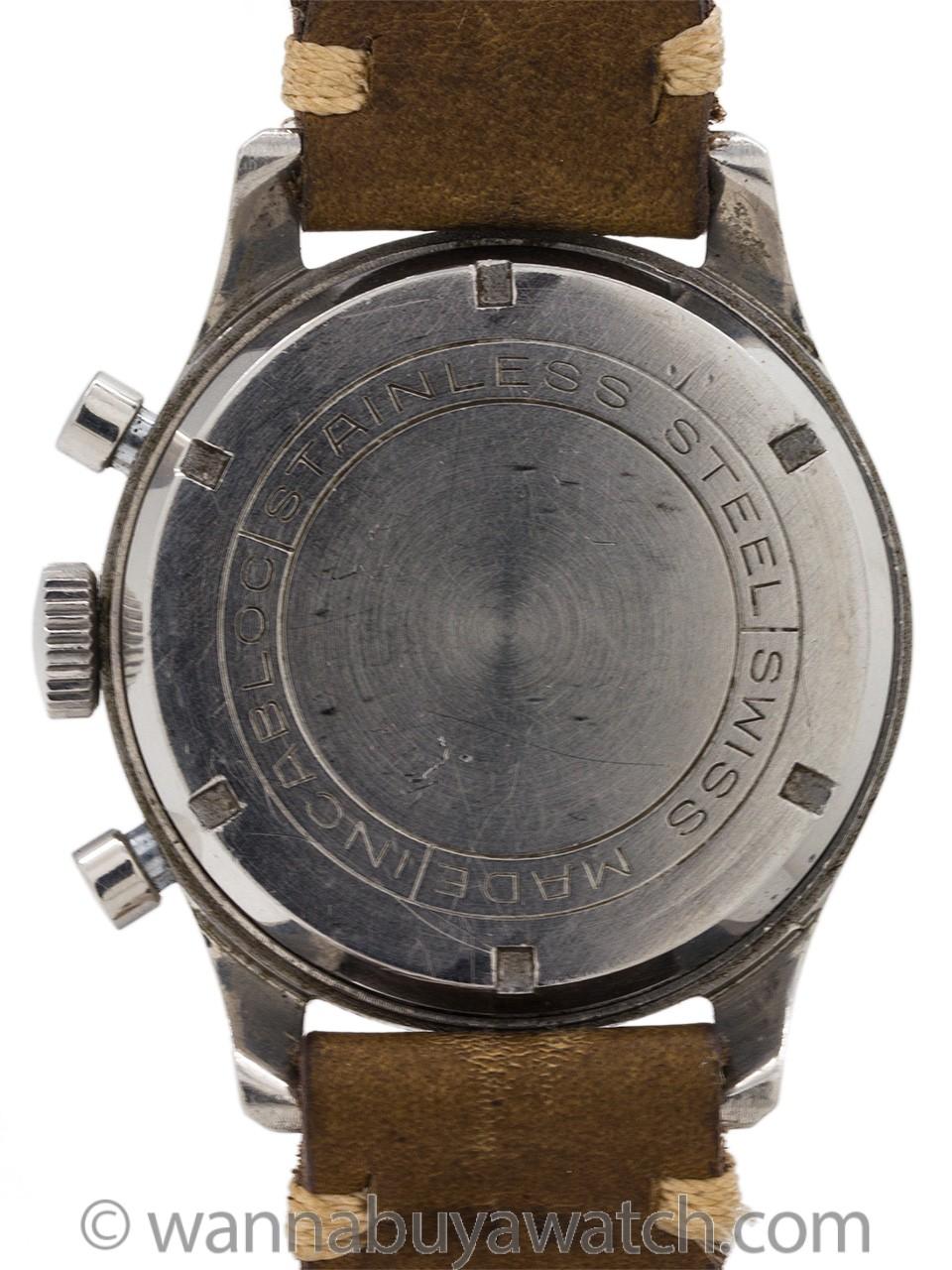 Croton Chronograph circa 1950's Valjoux 72