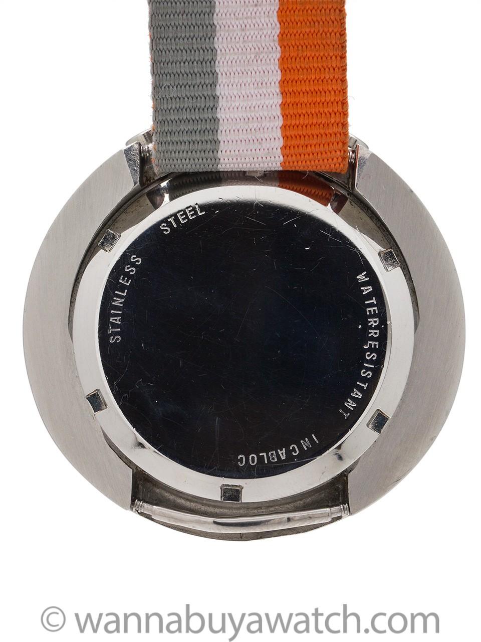 Junghans Bull's Head Chronograph Munich Olympics circa 1972