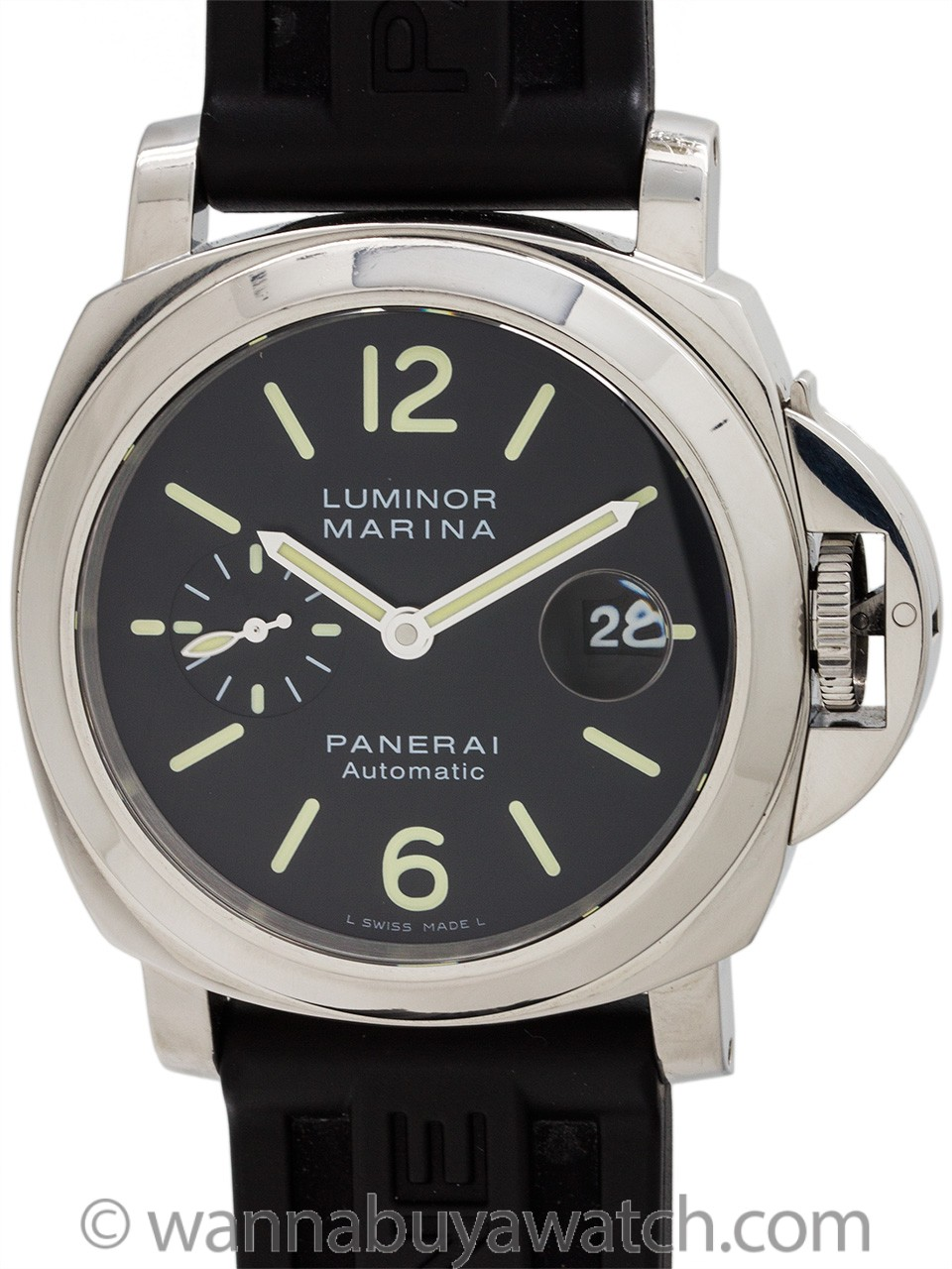 Panerai Luminor Marina PAM 104 Box and Papers circa 2007
