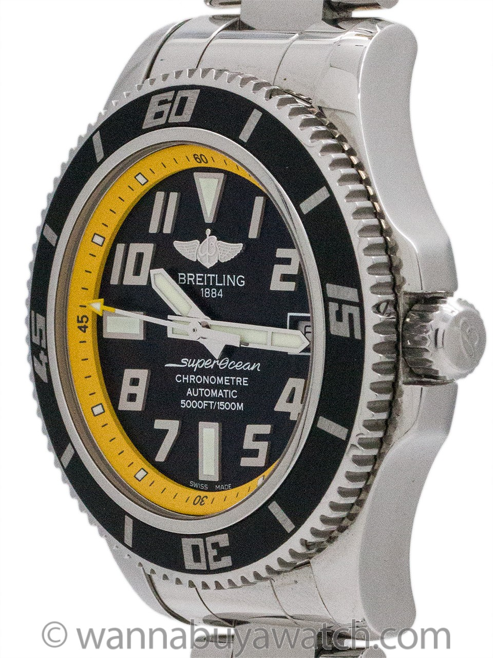 Breitling Superocean 42 ref A17364 Automatic Diver's circa 2000's