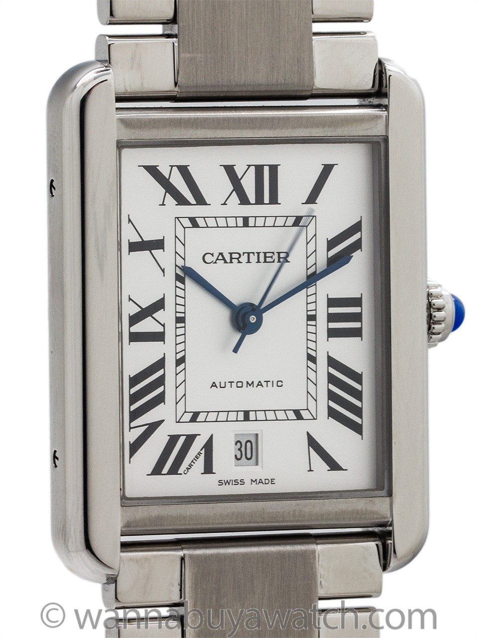 Cartier Tank Solo XL with Bracelet circa 2010+
