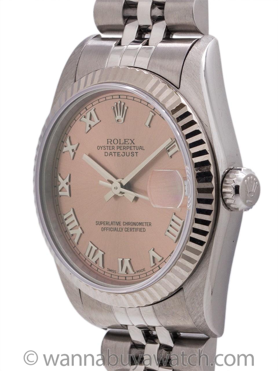 Rolex Midsize Datejust SS/18K WG ref 79174 circa 1997