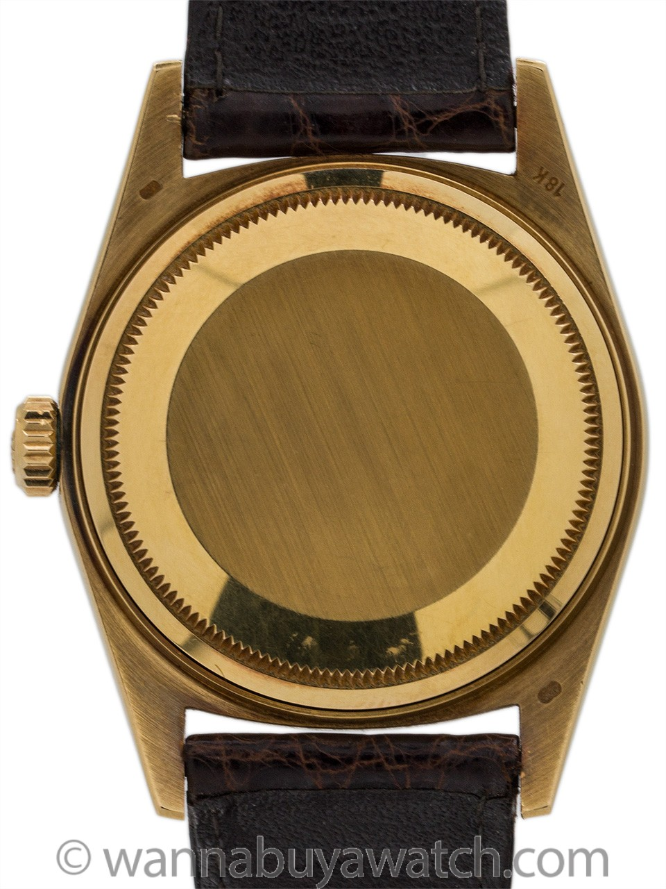 "Rolex 18K YG Datejust ref 16238 circa 1984 ""Forest Green"""