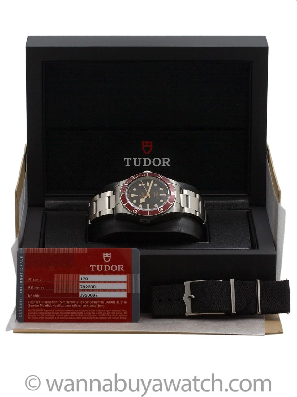 Tudor Heritage Black Bay ref 79220R Box & Card circa 2016
