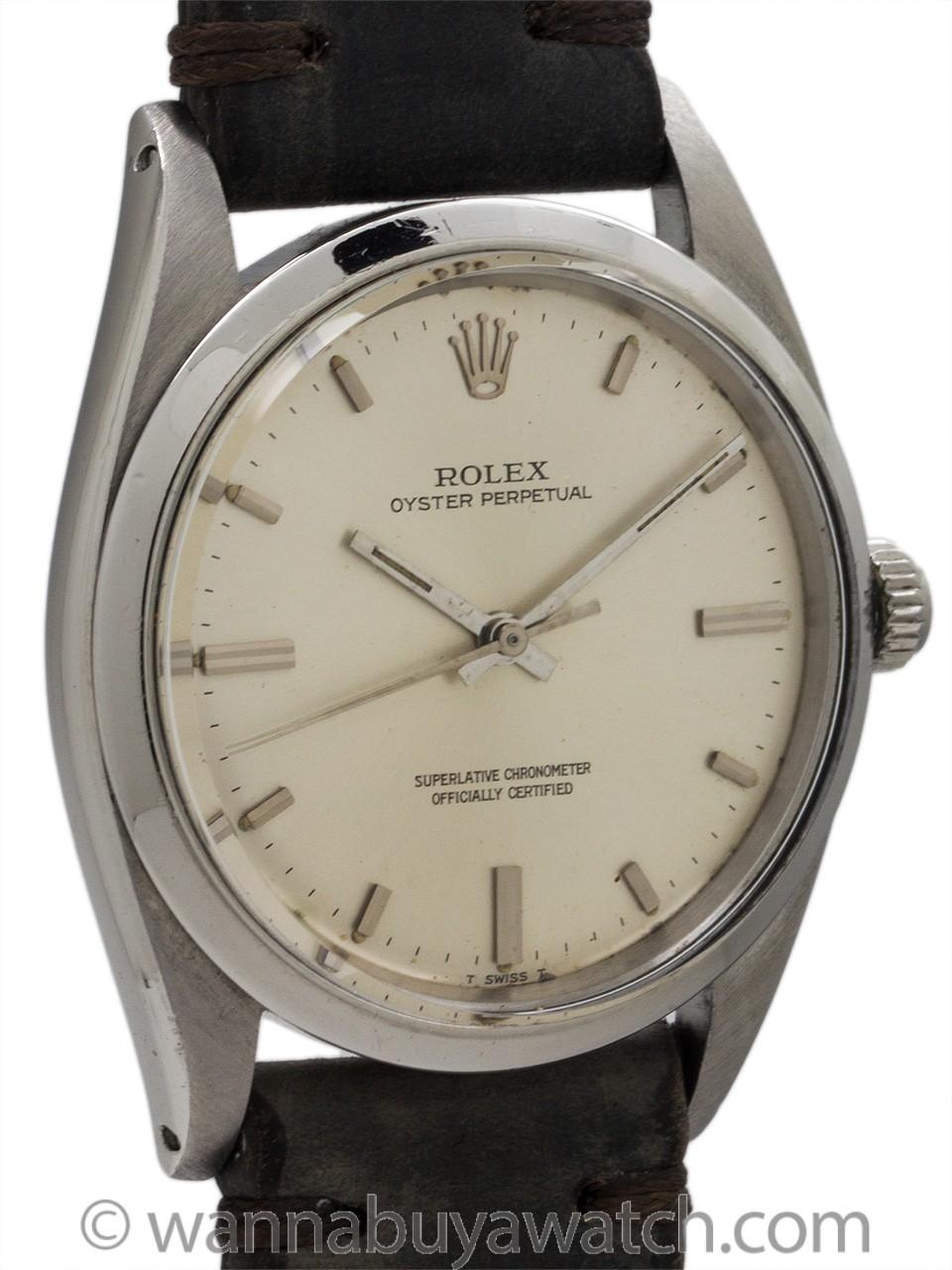 Rolex Oyster Perpetual ref 1018 circa 1962