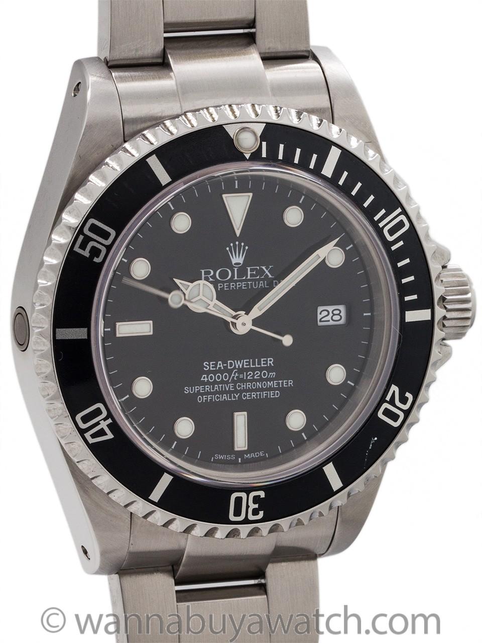 Rolex Sea-Dweller ref 16600 Stainless circa 2002