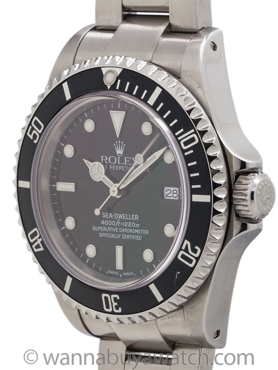 Rolex Sea-Dweller ref 16600 Stainless circa 2002