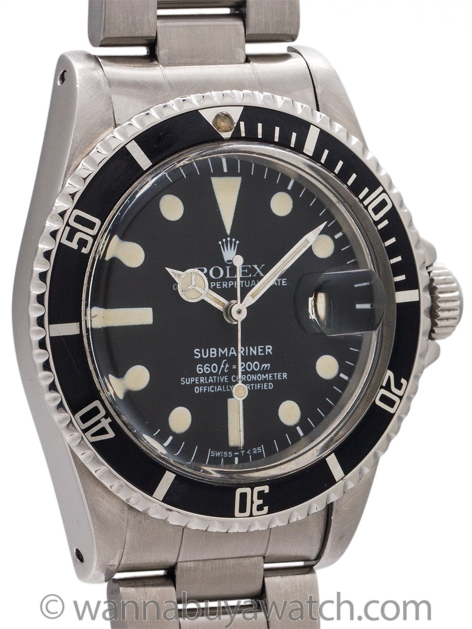 Rolex Submariner ref# 1680 circa 1978