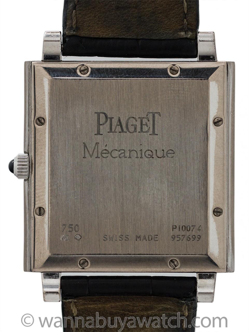 """Piaget 18K WG """"Mecanique"""" circa 2010"""