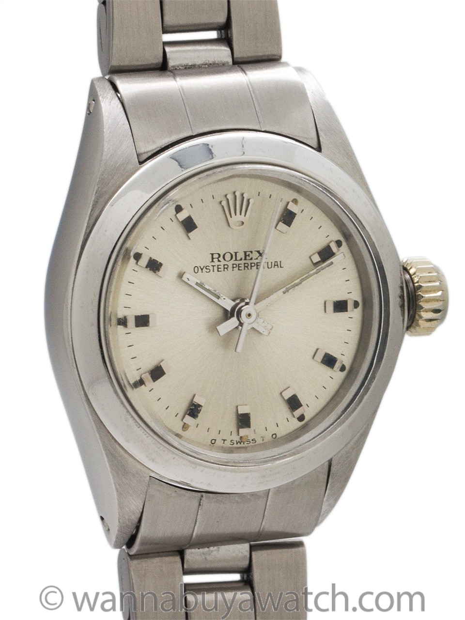 Lady Rolex Oyster Perpetual ref 6723 circa 1979