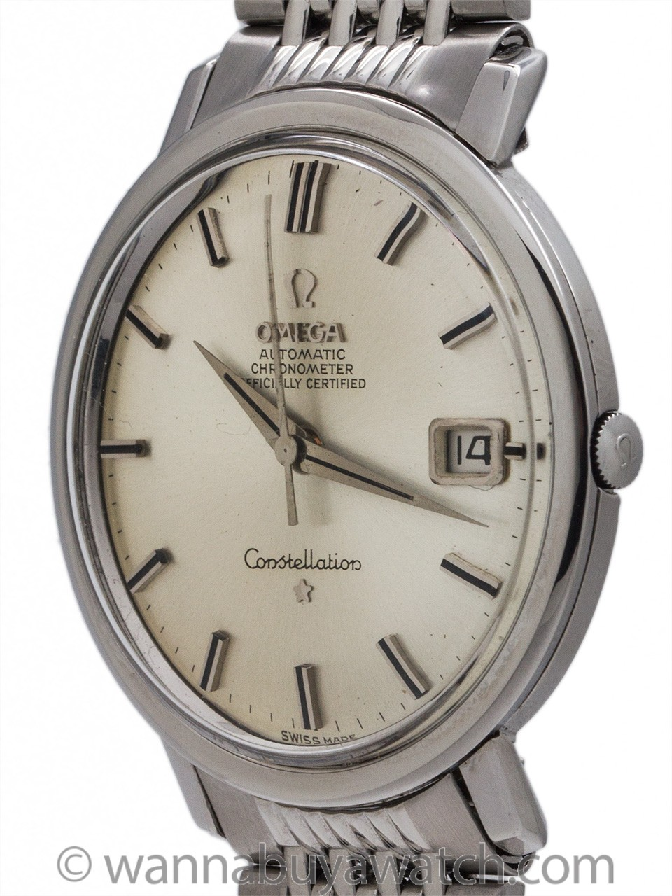 Omega Constellation ref 168.004 Stainless Steel circa 1963