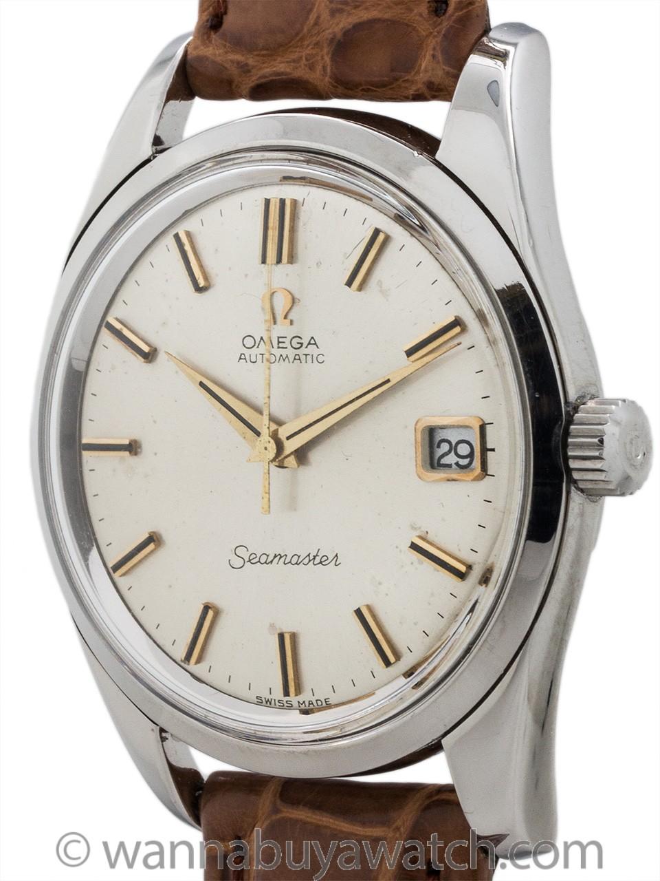 Omega Seamaster Automatic ref 166.010 circa 1965