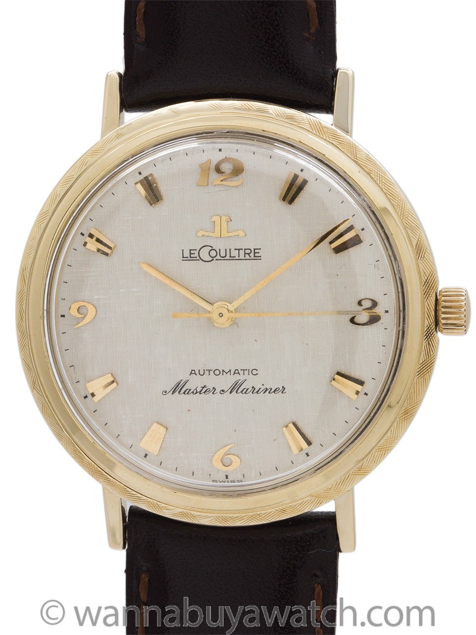 Lecoultre Master Mariner Automatic 14K circa 1960's