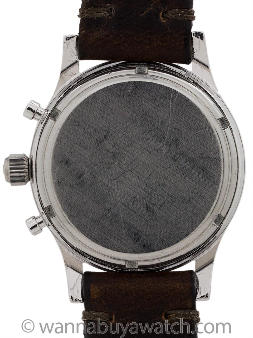 Heuer Pre Carrera Chronograph ref 3641S circa 1950's