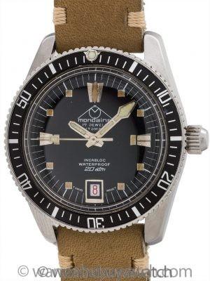 Mondaine Swiss Diver's circa 1960's