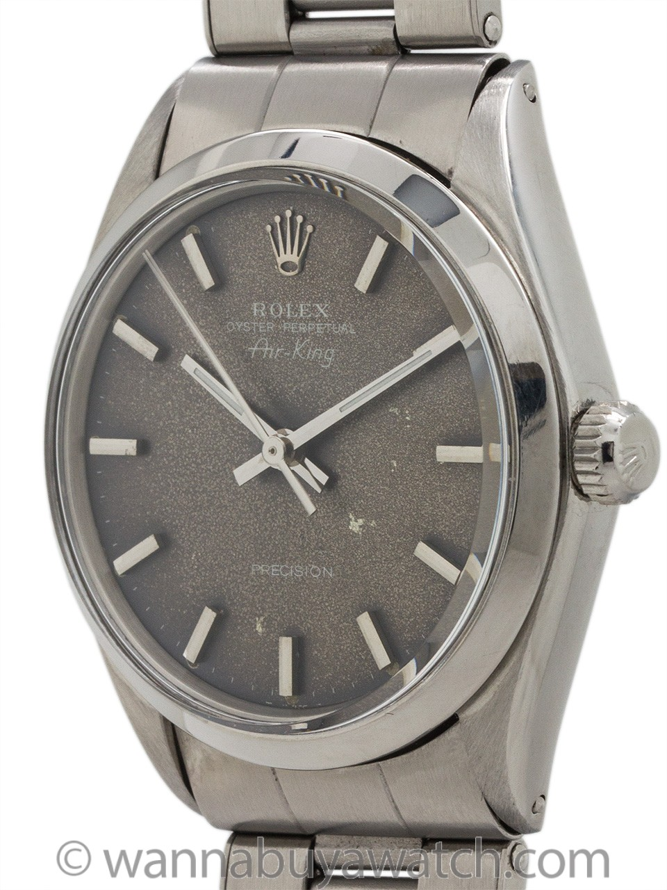 Rolex Oyster Perpetual Airking ref 5500 Tropical Dial circa 1968