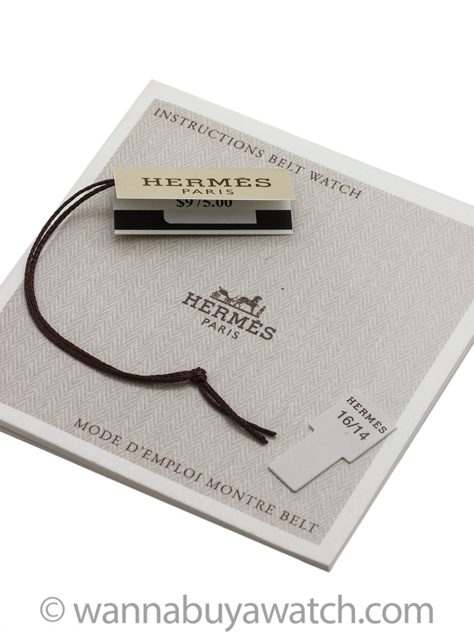 Hermes Lady H-Hour with Box & Papers circa 2000's