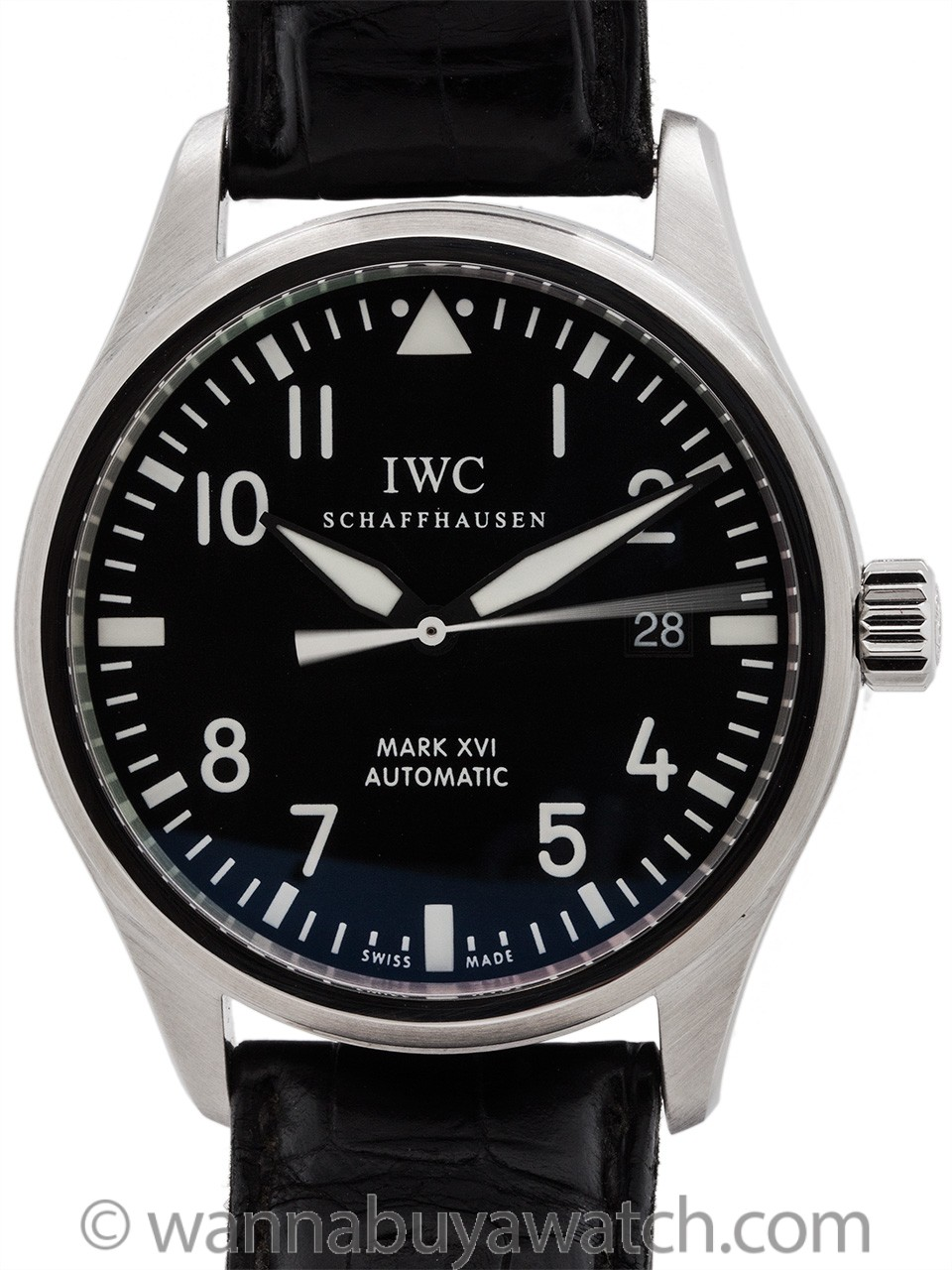 IWC Mark XVI Pilot's ref IW3255-01 circa 200's