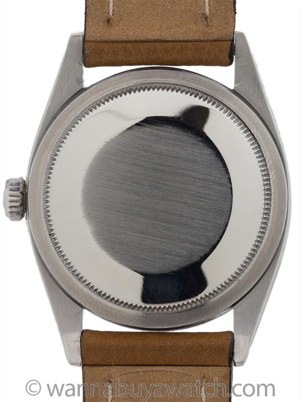 Rolex Explorer 1 ref 1016 Gilt Dial Exclamation Point circa 1962