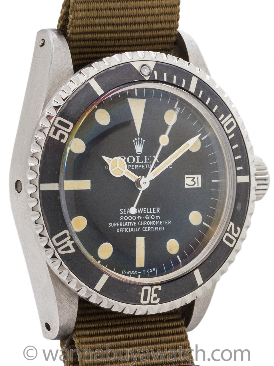 "Rolex Seadweller ref 1665 ""Great White"" Mark 1 circa 1979/80"